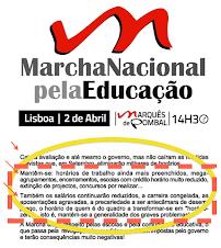 ATENÇÃO: CANCELADA a Marcha Nacional pela Educação