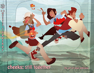 Cheeks: STILL TOGETHER (2011 artbook of Sean Galloway)