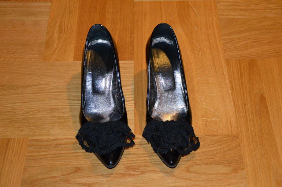 DIY - buty w barokowym stylu