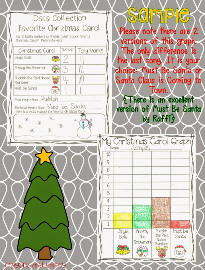 Primary Powers Crayons Whimsy Christmas Carol Graph