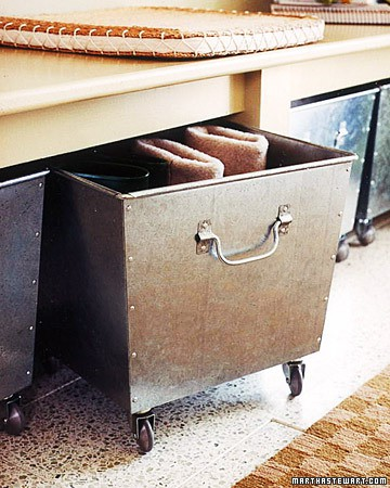 Remodelaholic   Clever Storage Ideas That I love!