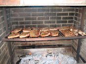 Spare Ribs on the Pit