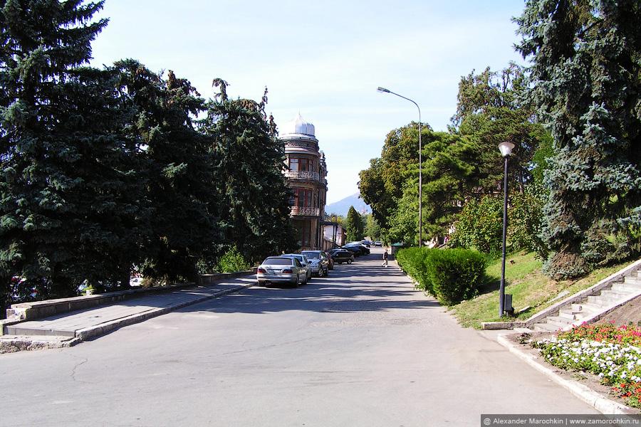 Улица Гоголя в Пятигорске