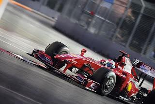 Gambar Mobil Balap F1 Ferrari 01