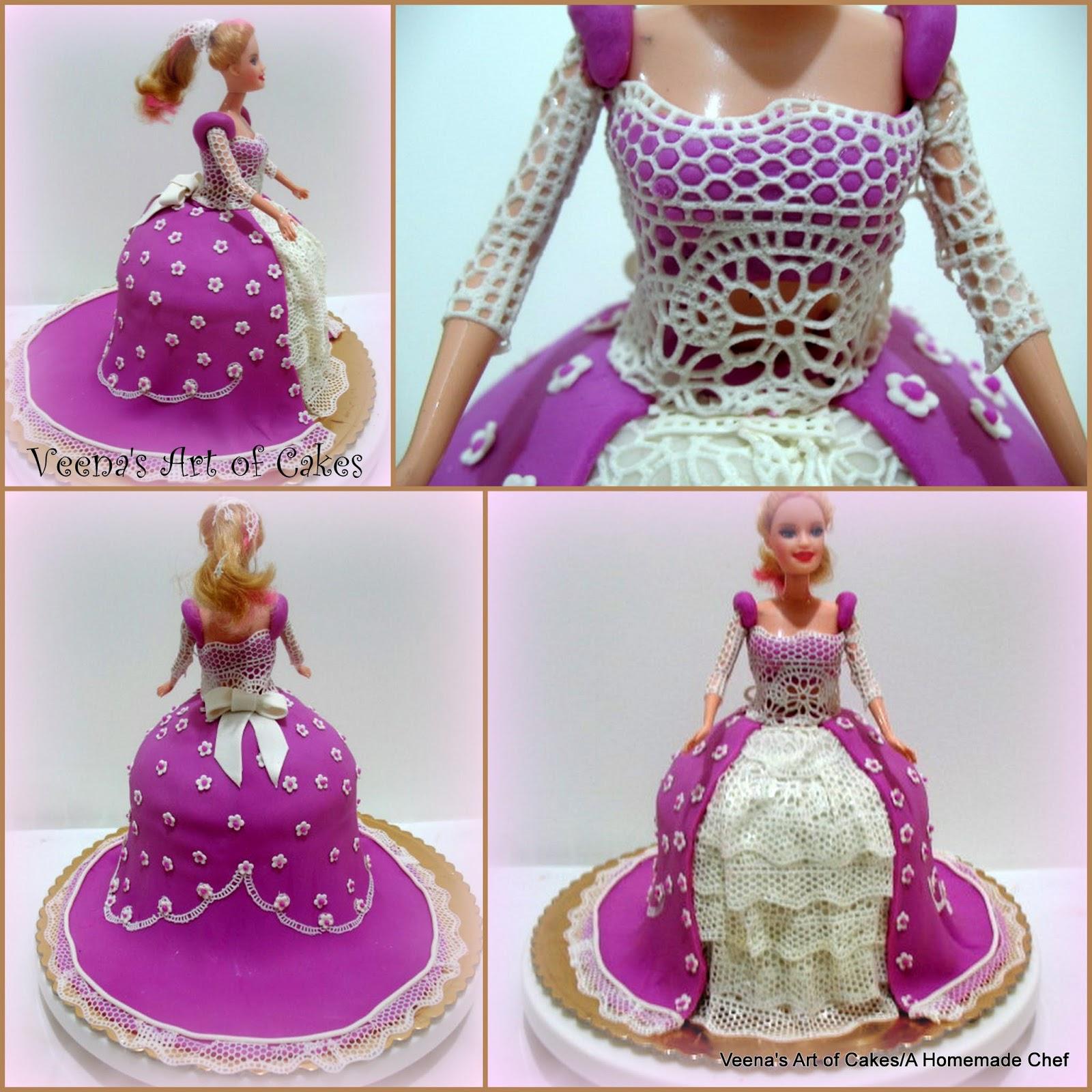 How to make a Princess Cake 2 with Sugar Veil