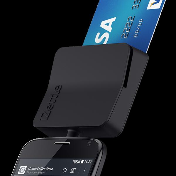 Usamos tecnología de pago IZettle