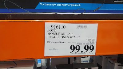 Costco offers Bose Mobile headphones for a great price