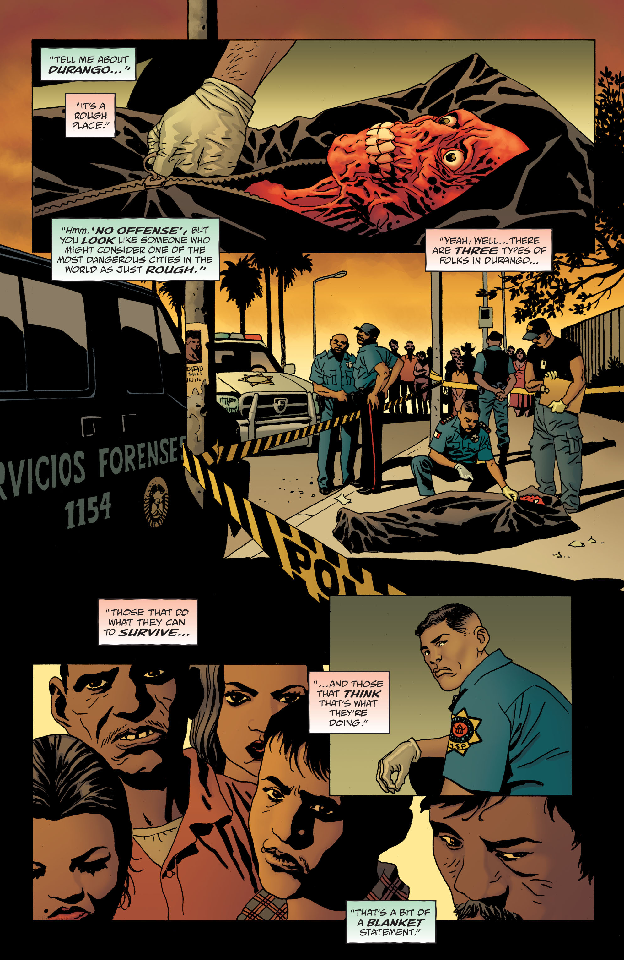 100 Bullets: Brother Lono Full Page 38