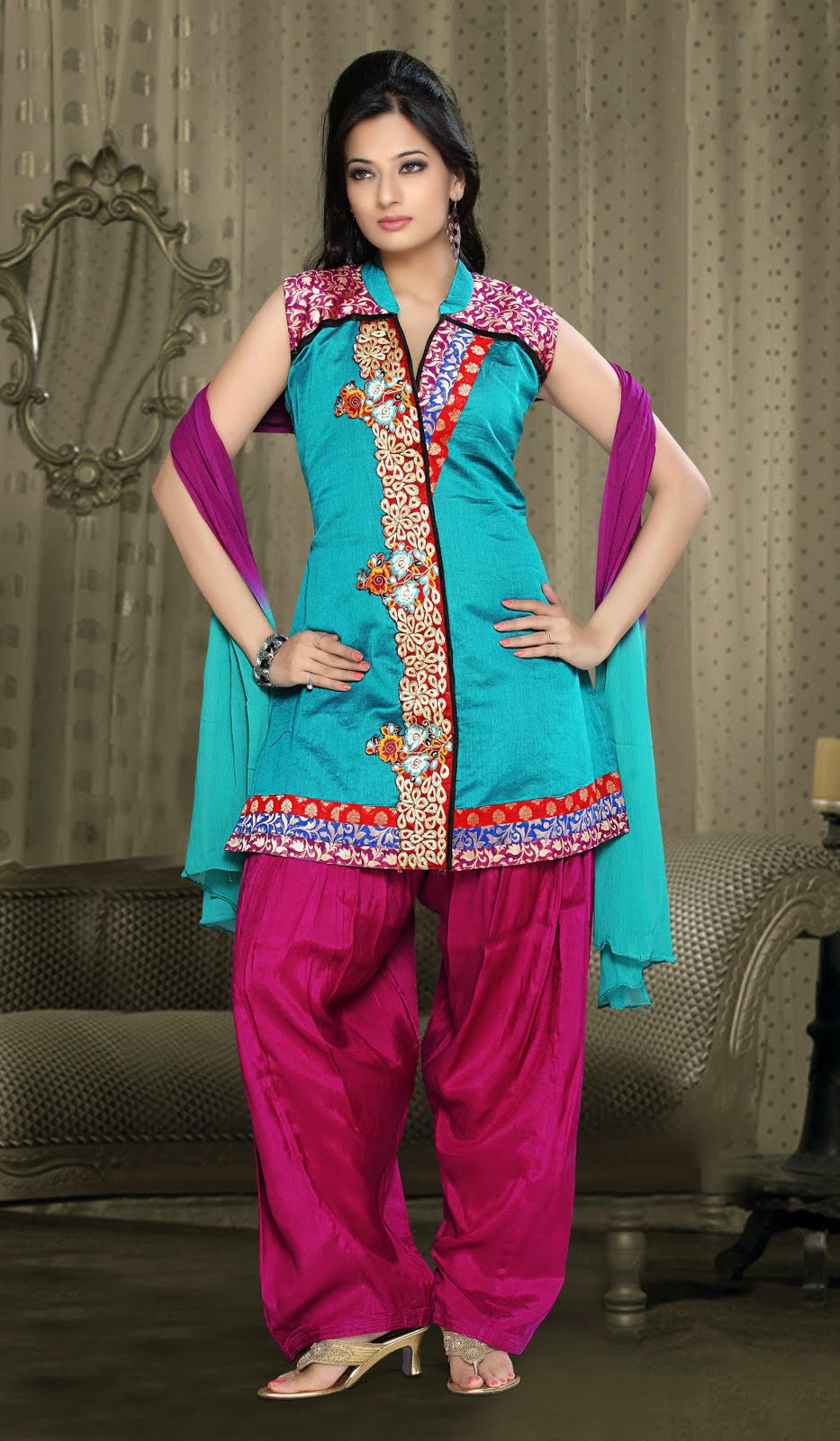 Indian Fashion Part 1-Different Variations of the Indian Salwar ...