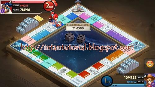 Hasil screenshot game asus zenfone