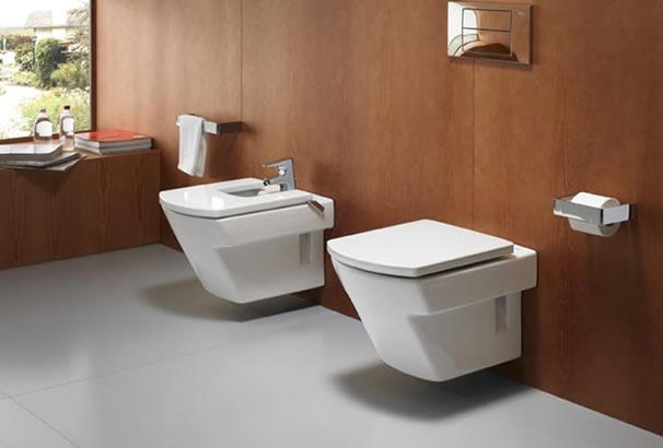 Construindo minha casa clean vasos sanit rios suspensos for Sanitarios roca hall
