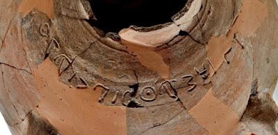 Jarro de 3 mil anos é encontrado com inscrição da era do rei David