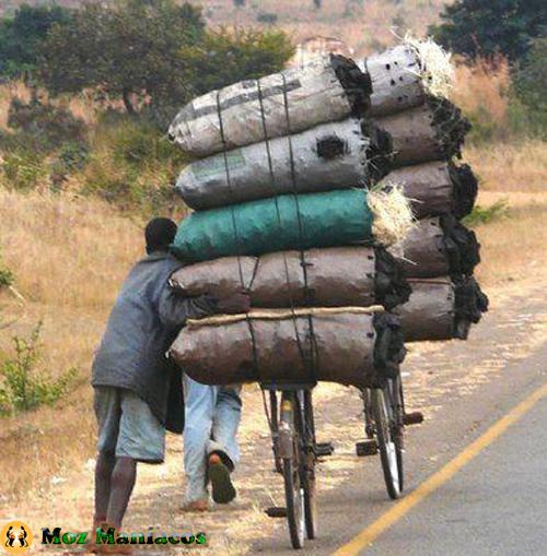 Bicicleta para cargas