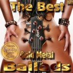 Capa do álbum The Best Gold Metal Ballads (2013)