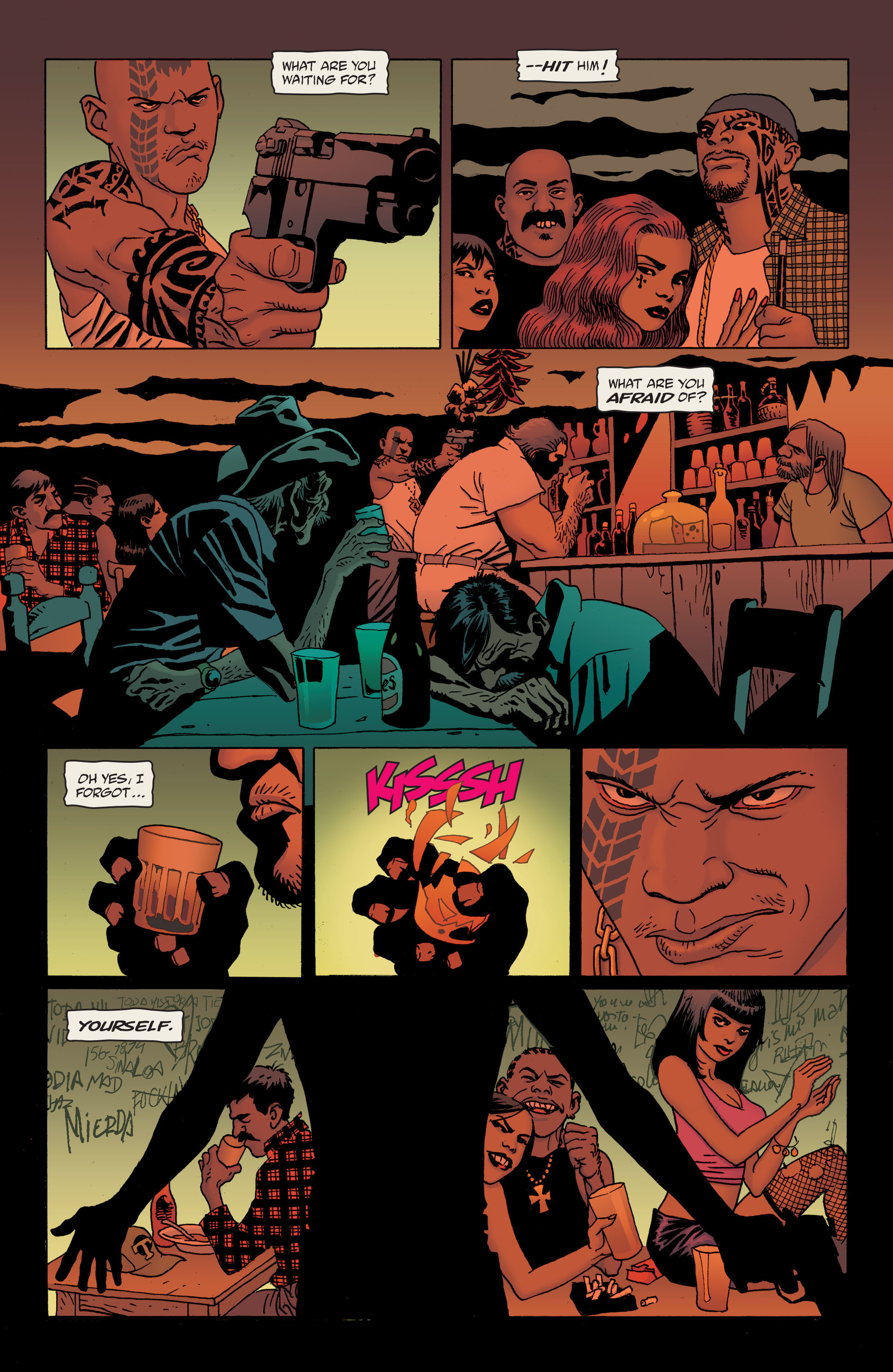 100 Bullets: Brother Lono Full Page 51
