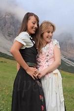 """Lesbian Fun With Lorena G. & Belinda in """"Alpenglow"""" Video at FEMJOY"""