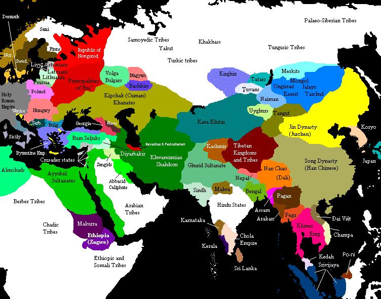 Okar Research: Okar Research Maps... Ancient Central Asia
