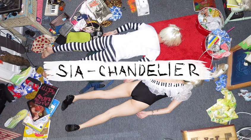 """CHART RIGGER Sia Swings New Single """"Chandelier"""" to"""