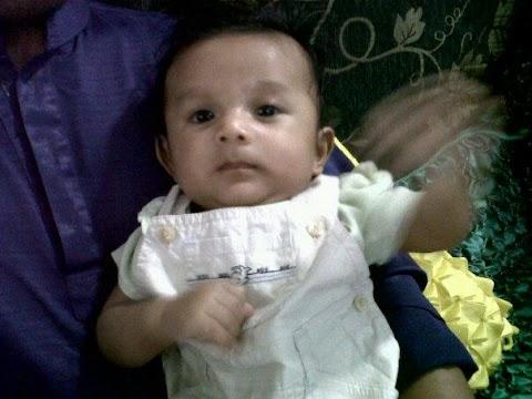 Airiel Qaid 3 Bulan Di Hari Raya Haji 2012