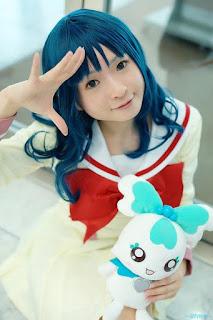 Kanan Kaori Cosplay as Erika Kurumi from HeartCatch! Precure