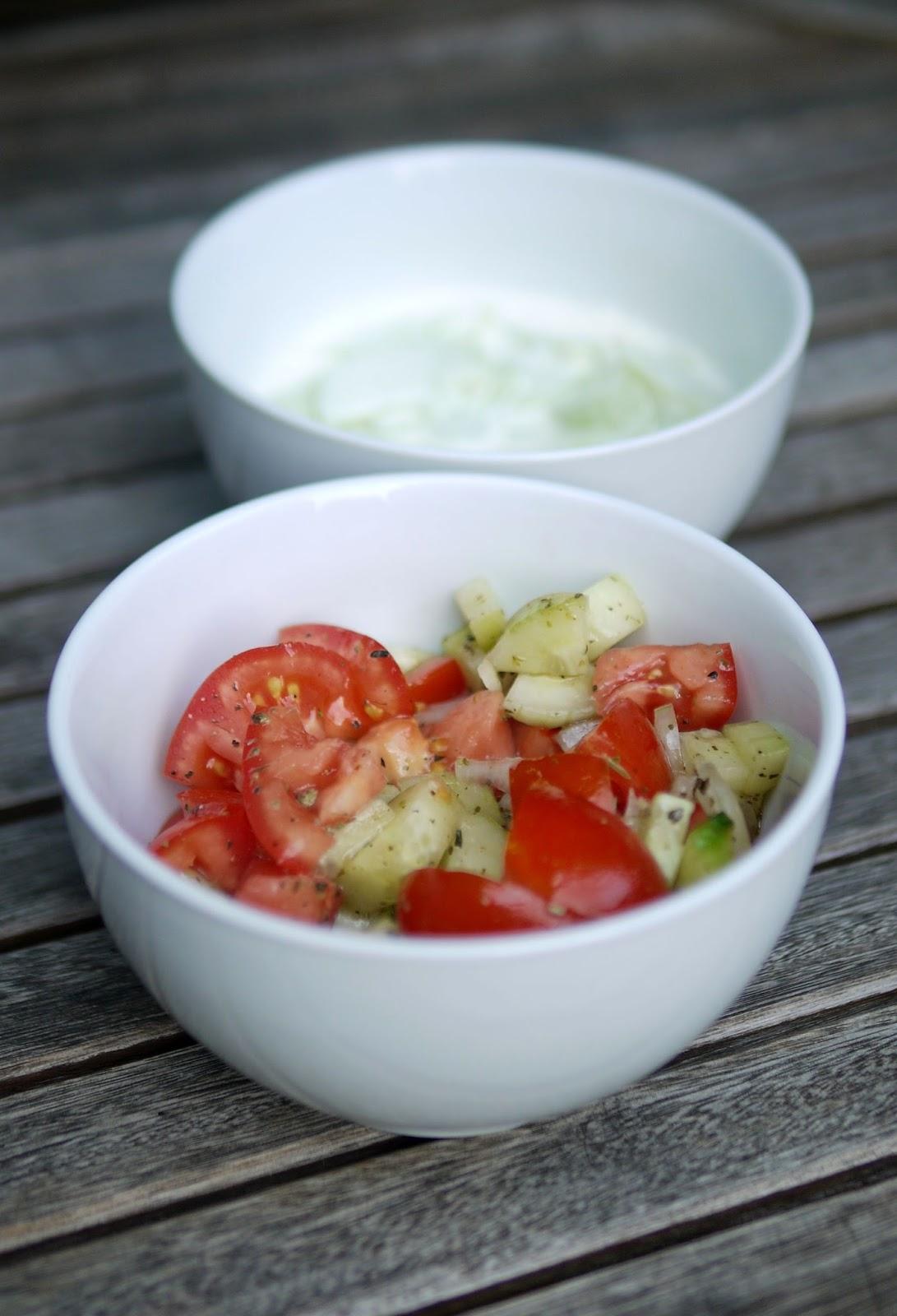 experimente aus meiner küche: schnelle gurkensalate - Schnelle Küche Für Zwei