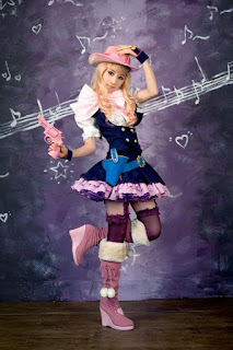 Macross Frontier Sheryl Nome (Cowboy) Cosplay by Ren