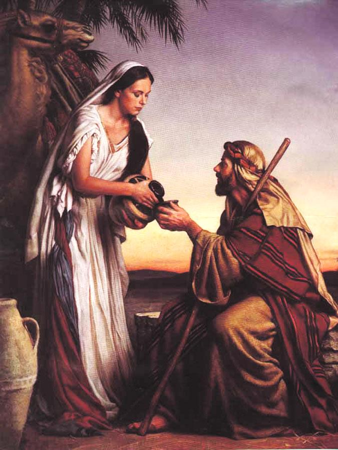 Abraham's servant went back to Abraham's country, sought God for guidance and immediately came in contact with a very godly young girl (Genesis 24).