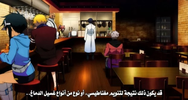 تحميل ومشاهده حلقة Hamatora The Animation 04 مترجمه للعربية علي الخليج الجوده عاليه