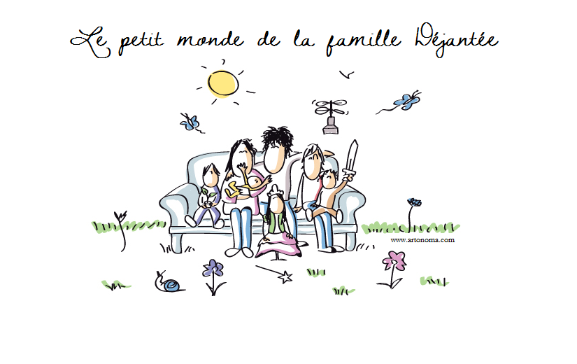 Le petit monde de la famille djante