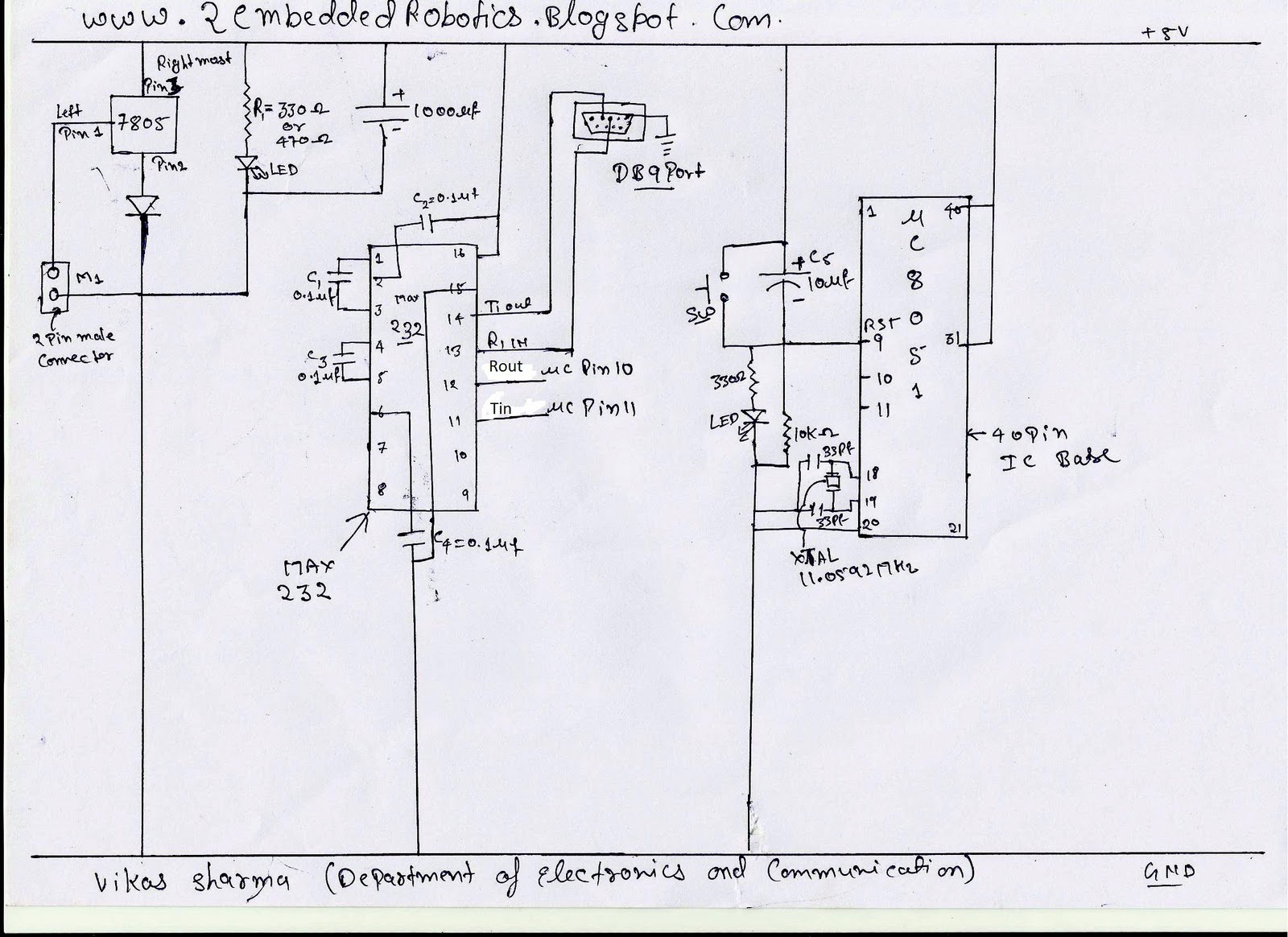 Circuit Diagram 8051 Programmer Wiring Library Digital Thermometer Using Microcontroller