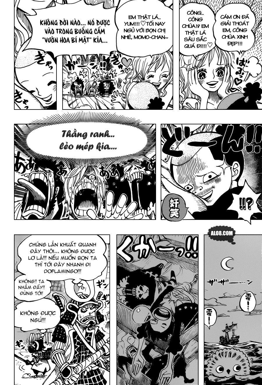 One Piece Chapter 699: Báo sáng 014