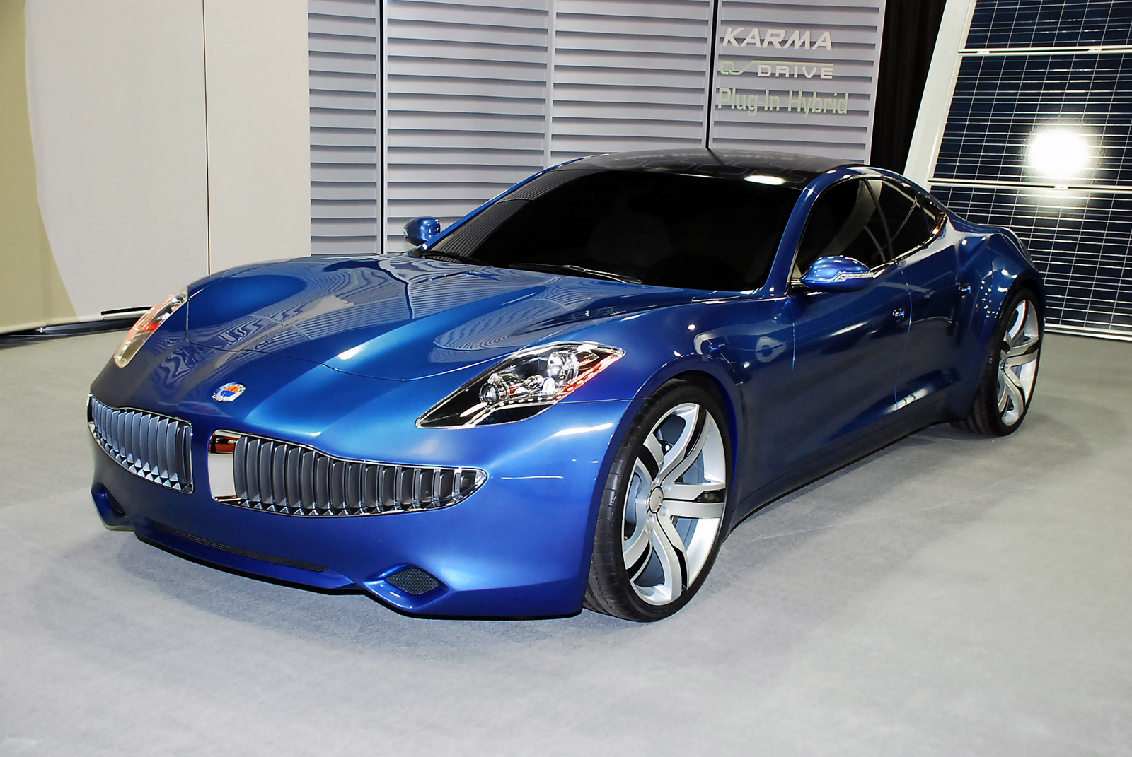 fisker karma hybrid car and electronic wallpaper. Black Bedroom Furniture Sets. Home Design Ideas