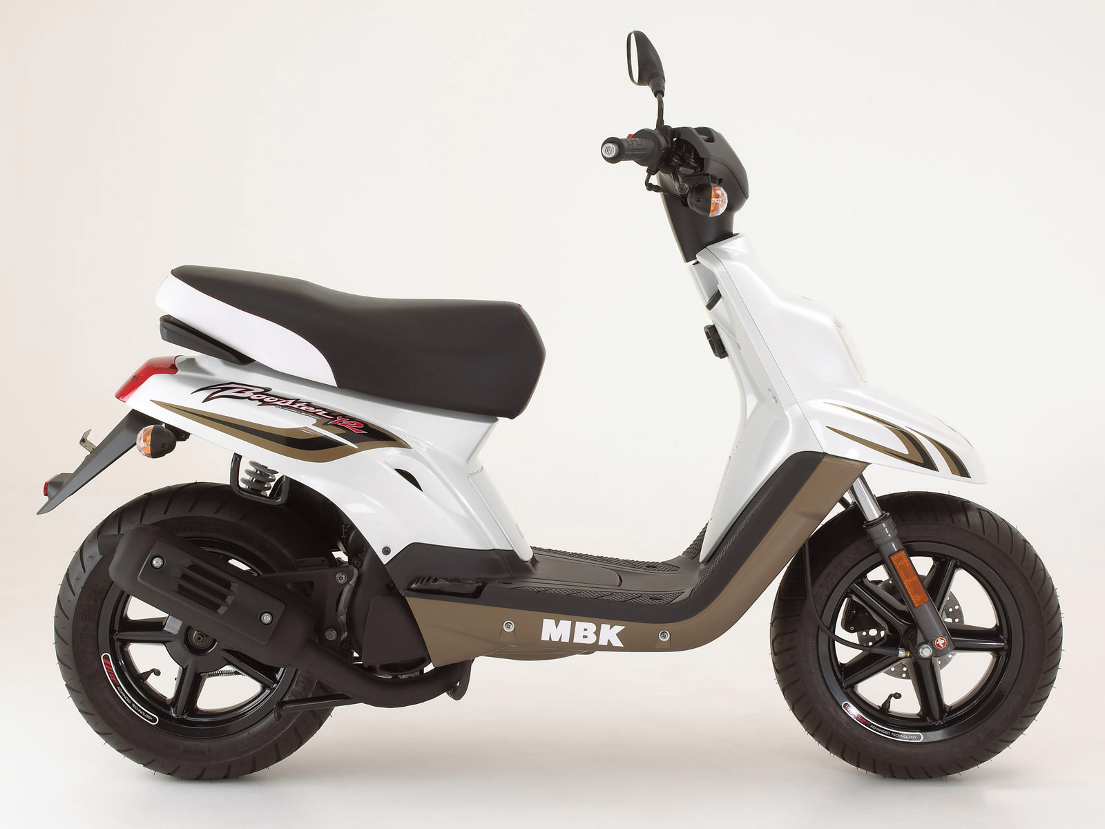 2007 Mbk Booster 12inch Scooter Pictures