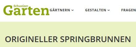 Schweizer Garten Internet 2017