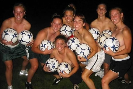 Nude college soccer girl can not