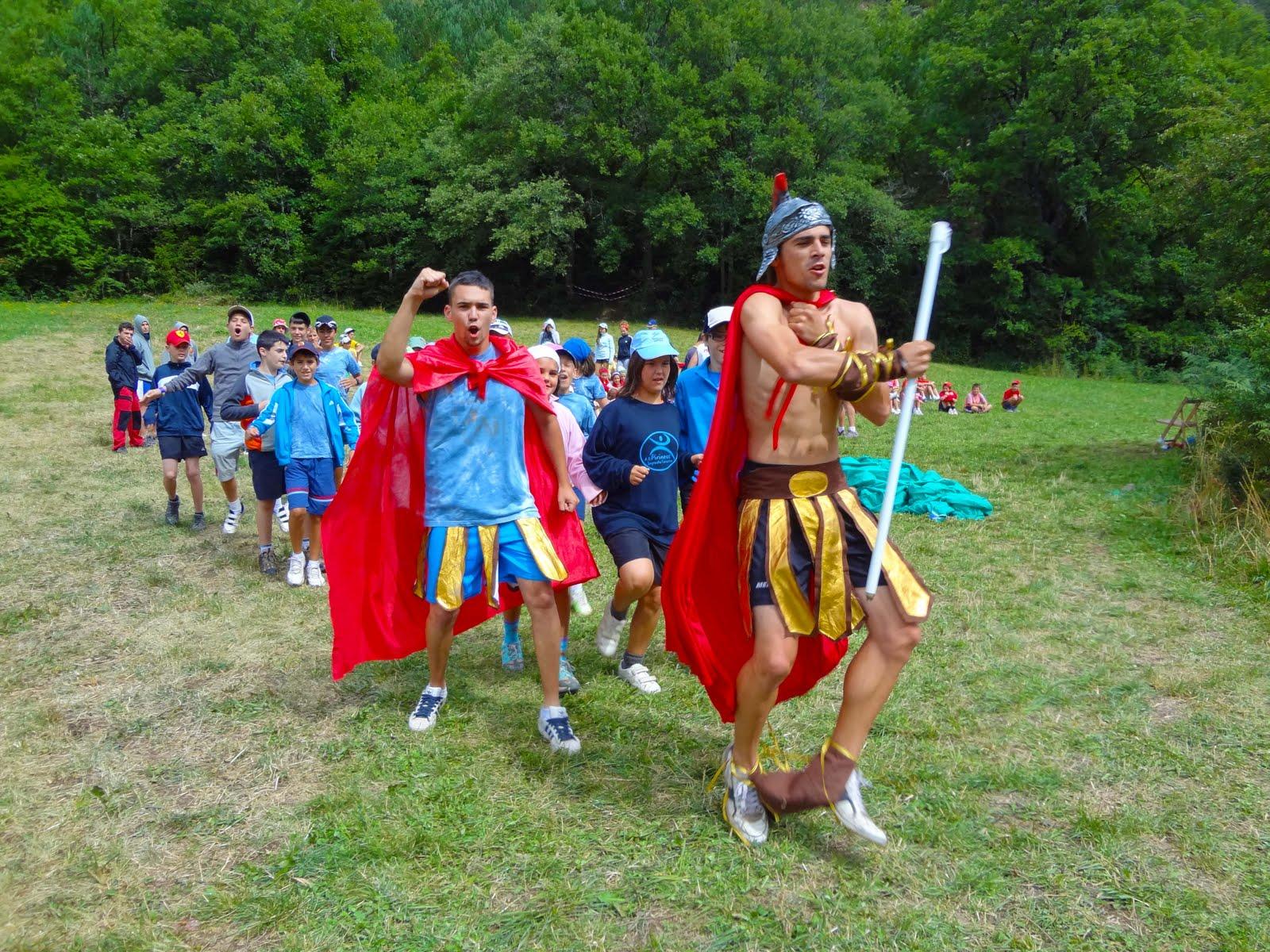 Campamento Atreyu Siresa 2011: Cuarto día en el campamento...