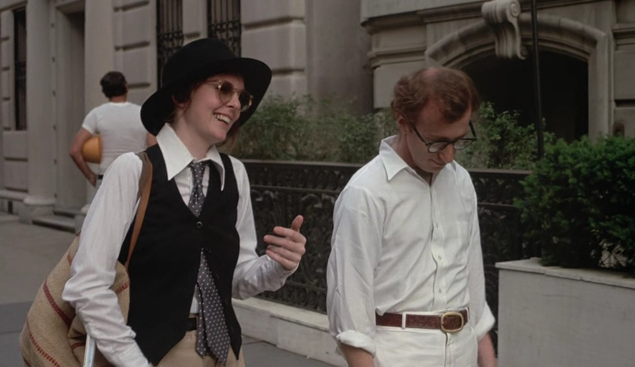 an analysis of annie hall a movie by woody allen Annie hall (1977), from director-actor-co-writer woody allen, is a quintessential masterpiece of priceless, witty and quotable one-liners within a matured, focused and thoughtful film it is a bittersweet romantic comedy of modern contemporary love and urban relationships (a great successor to .