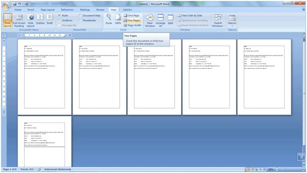 Cara Menggunakan Fitur Mail Merge Di MS. Word 2007 10