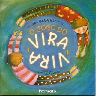[Infantil] Livro O jogo do vira-vira