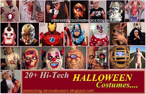 Hi-tech halloween costume designs