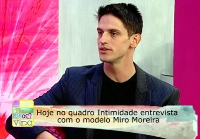 """Eu largaria tudo por Deus"", diz o modelo Miro Moreira"