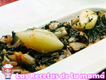 Receta de Acelgas con patatas