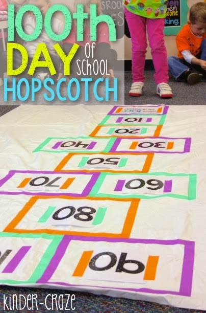 Freebielicious Skip Count Hopscotch