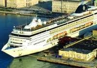 Trieste Terminal Passeggeri all'Italian Cruise day