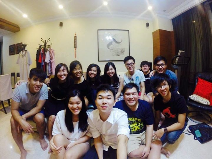 T4 at Agnes's house