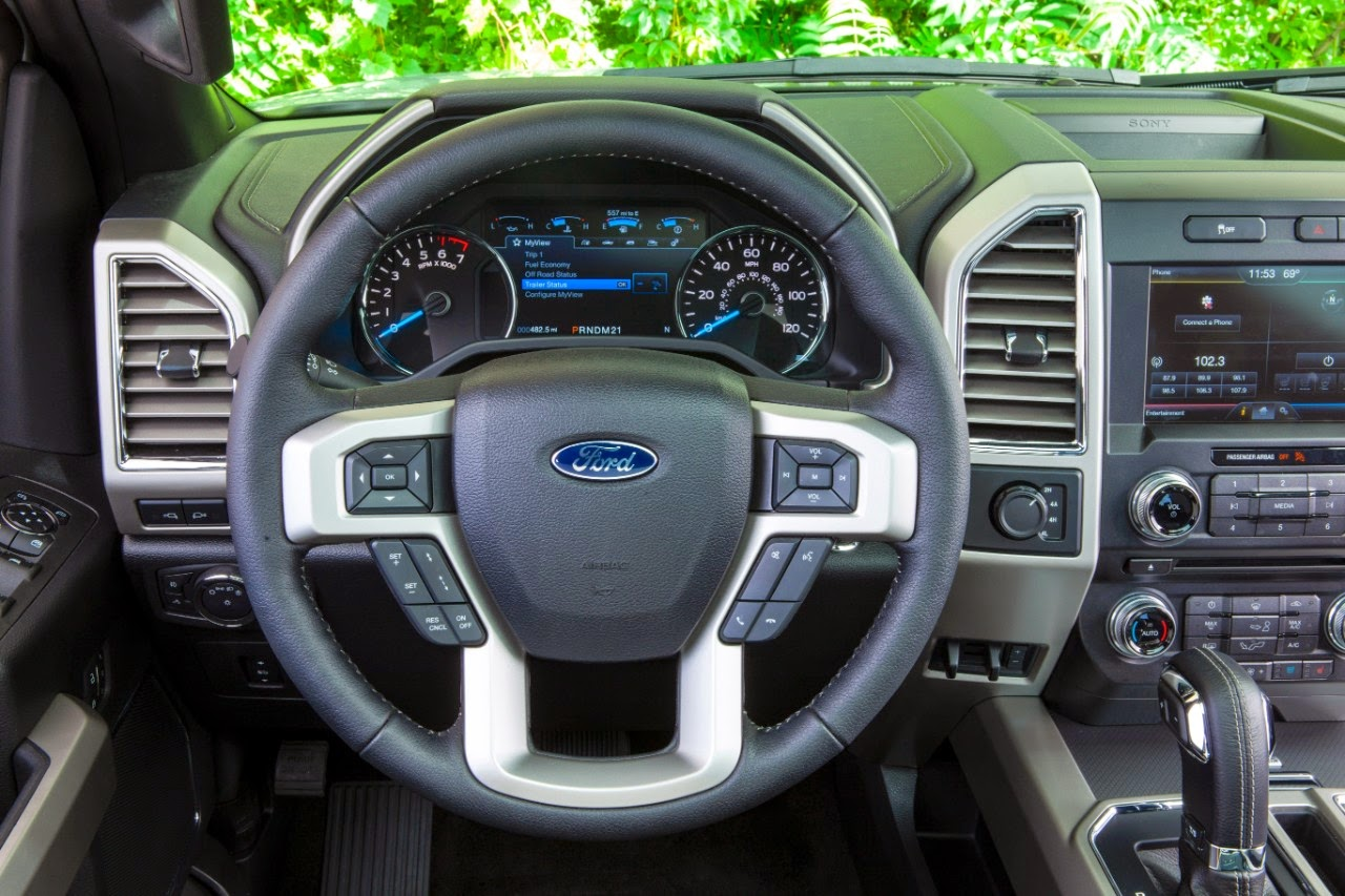 10 New 2015 Ford F-150 Features You'll Love