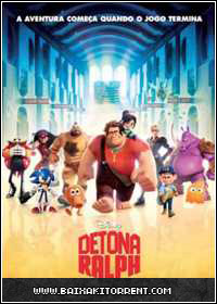 Capa Baixar Filme Detona Ralph Dublado (Wreck It Ralph) Dual Áudio   Torrent Baixaki Download