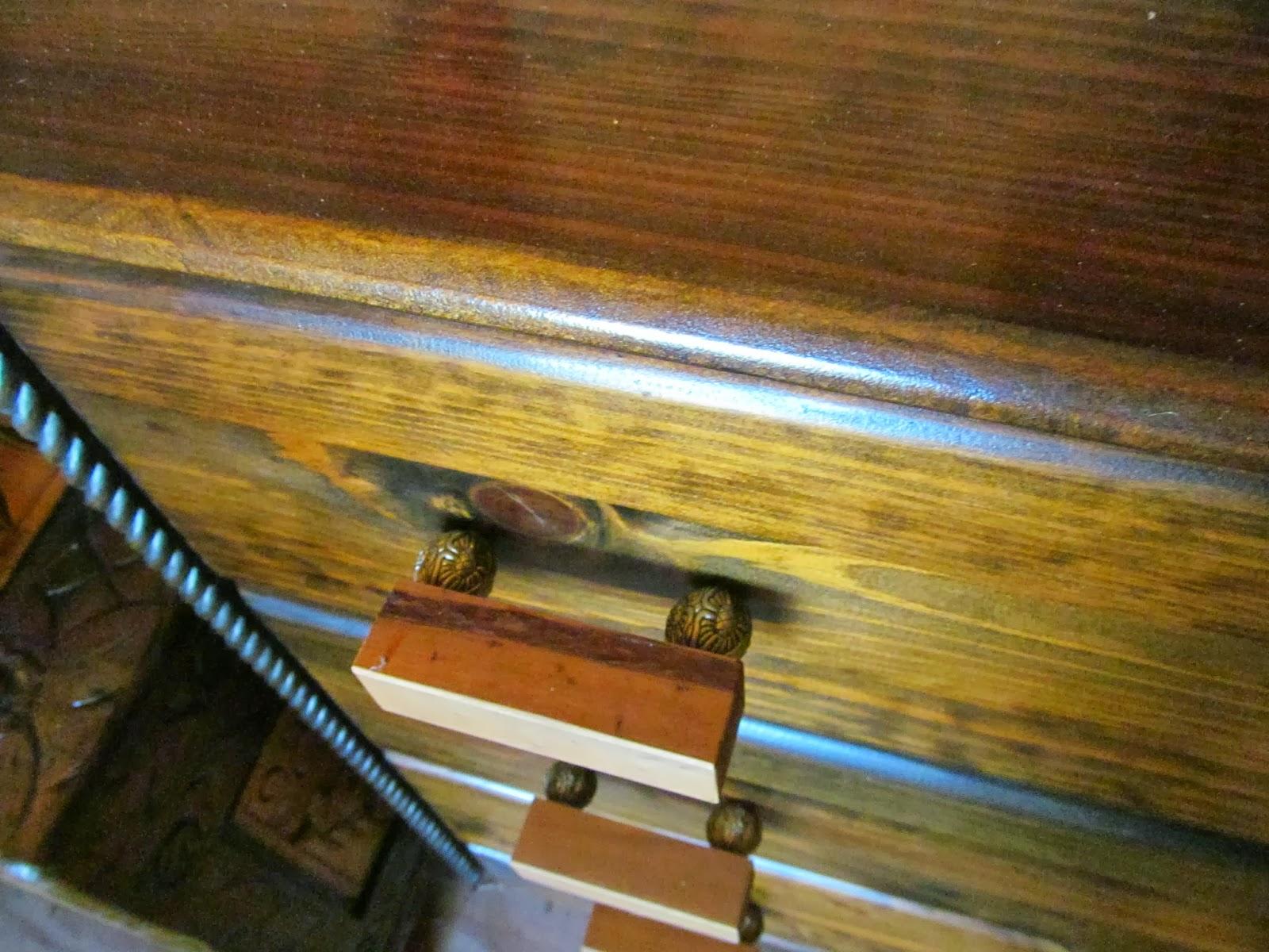 hand-made drawer pulls
