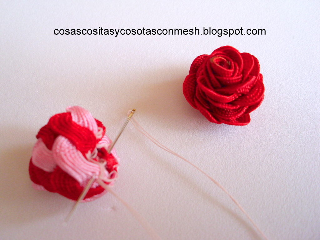 Manualidades diademas decoradas con rosas cositasconmesh - Manualidades como hacer ...