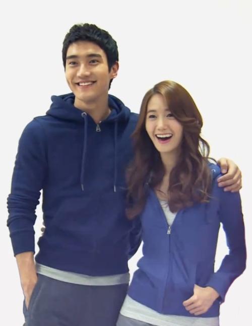 Siwon and Yoona